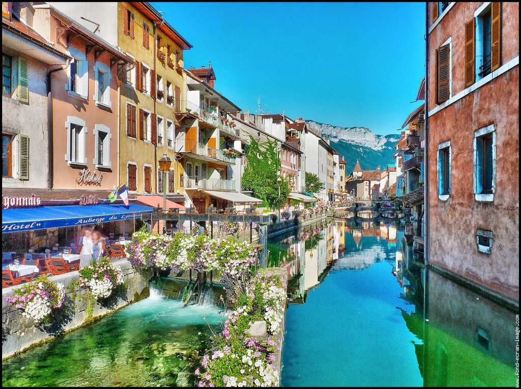 Annecy Venise des Alpes Learn French