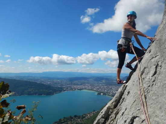 Via Ferrata Annecy Lake