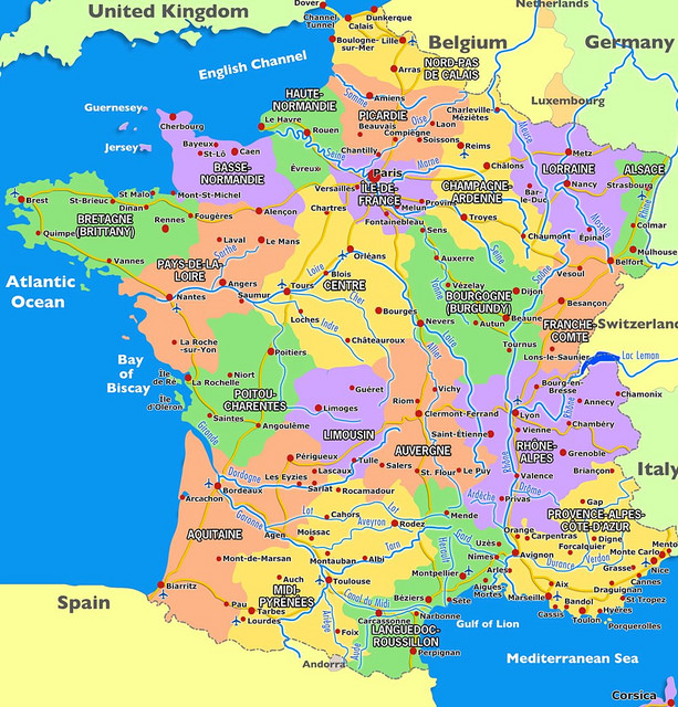 Map Of Regions Of France.28 Regional Accents In France Be Aware Of It